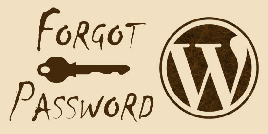 forgot-wordpress-password
