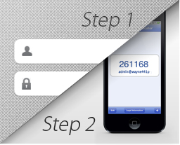 Secure storage 2 step verification