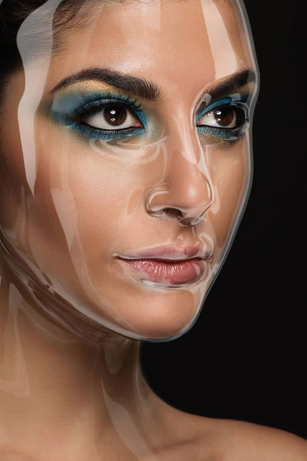 افکت Face photoshop 22