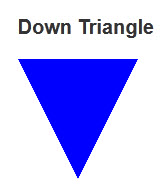 Down Triangle
